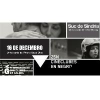 Cartel 25N Cineclubs en Negro